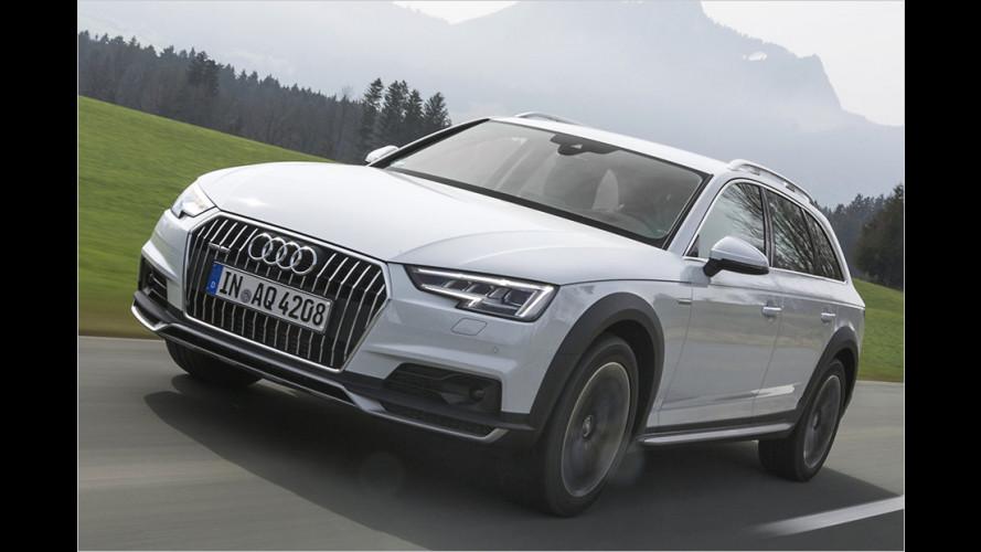 Der Audi A4 Avant: Jetzt in unrasiert