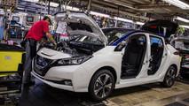 2018 Nissan Leaf production