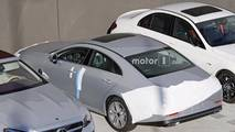 2019 Mercedes-Benz CLS spied with no camo
