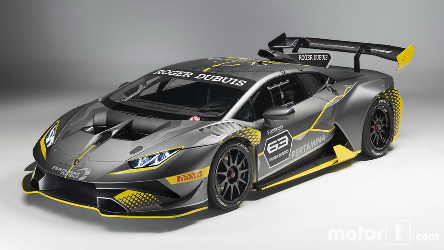 Así es el Lamborghini Huracán Super Trofeo EVO 2018