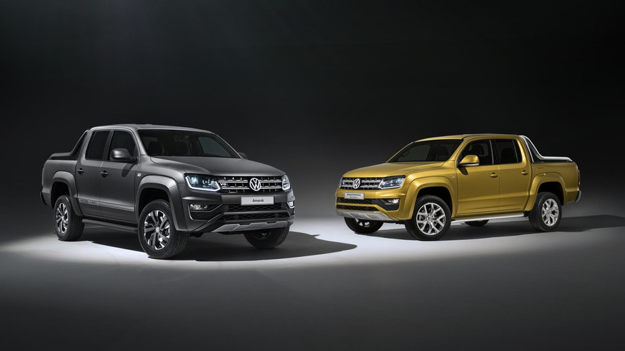VW Amarok Aventura Exclusive concept and Amarok Dark Label special edition