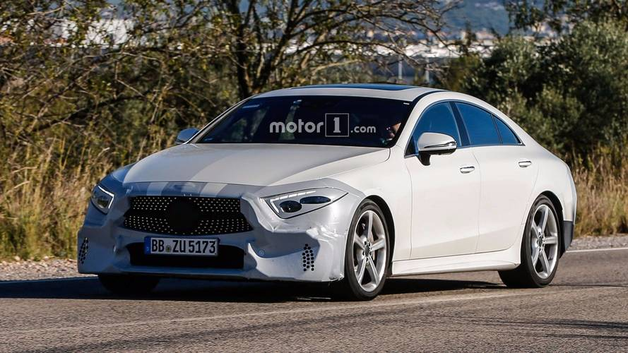 2018 Mercedes CLS: This Is Most Of It