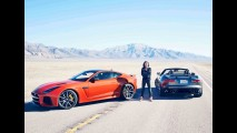 Vídeo: Michelle Rodriguez, a Letty de Velozes e Furiosos, acelera o F-Type a 320 km/h
