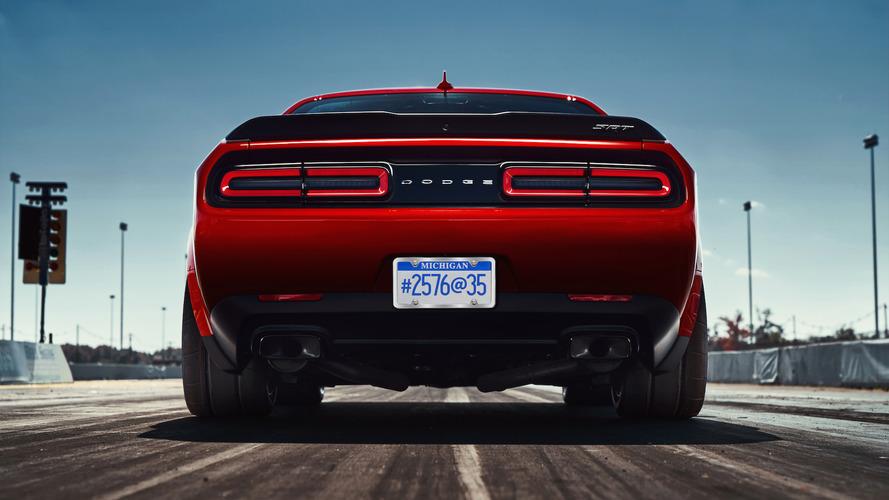 The 2018 Dodge Challenger SRT Demon's 215-pound diet