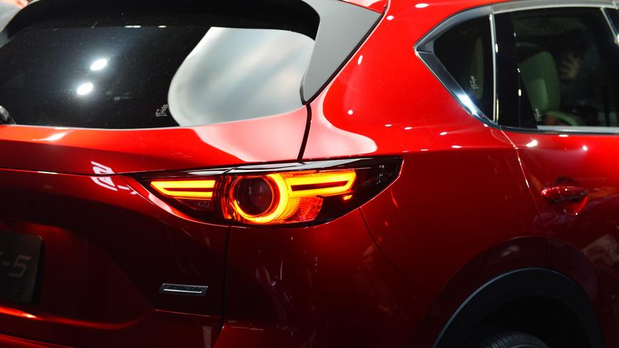 Mazda CX-5 2017 no Salão de Los Angeles