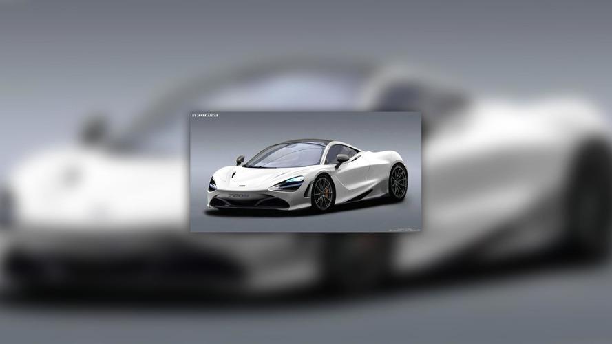 McLaren 720S'e tasarım yorumu