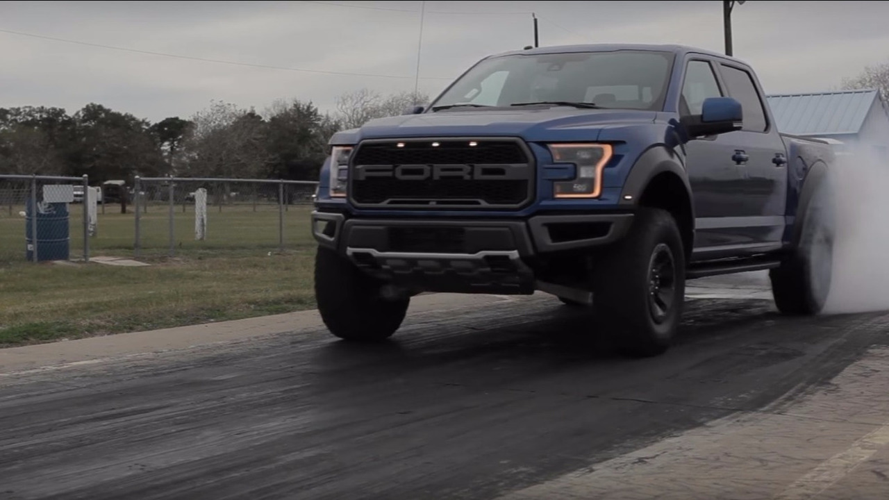 2017 Ford F-150 Raptor quarter mile