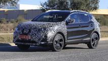 2018 Nissan Qashqai facelift spy photo