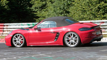 Porsche Boxster GTS fotos espía