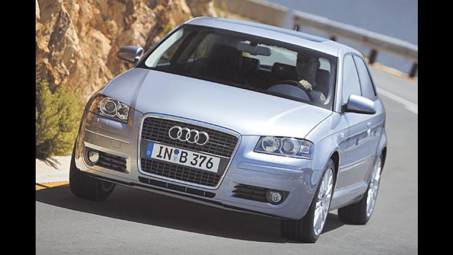 Audi A3: Neuer 1,4-Liter-Turbodirekteinspritzer mit 125 PS
