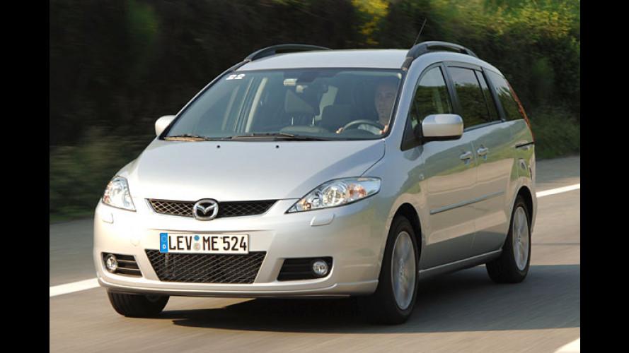 Zauber-Sitze und Online-Scheckheft: Mazda 5 im Test