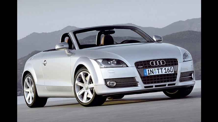 Audi gibt wieder Stoff: TT Roadster kommt im Frühjahr 2007