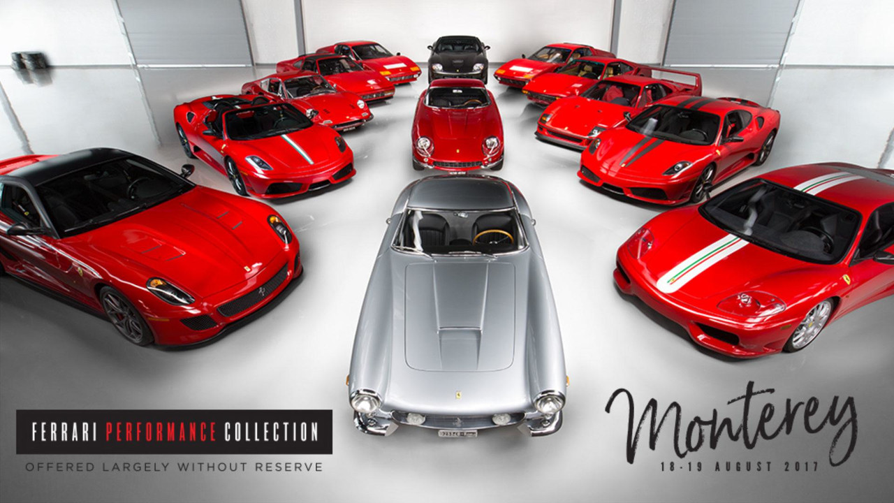 Ferrari Collection For Auction