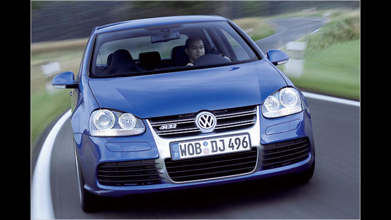 VW Golf V R32, Bauzeit: ab 2005