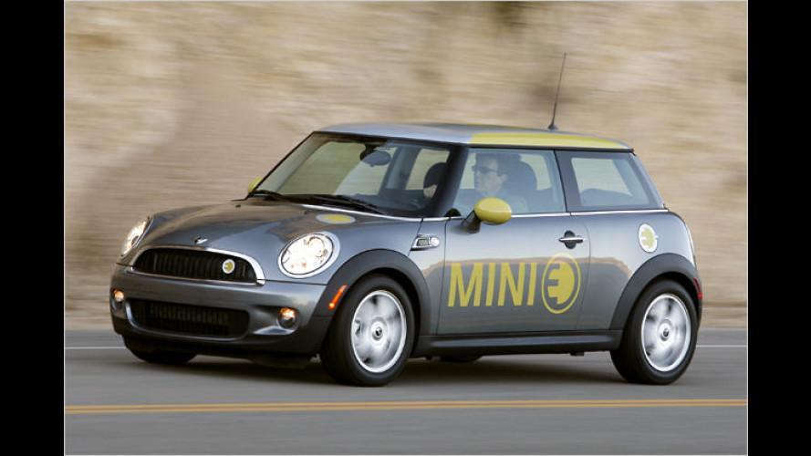 BMW: Stromer Mini E soll nach Großbritannien kommen