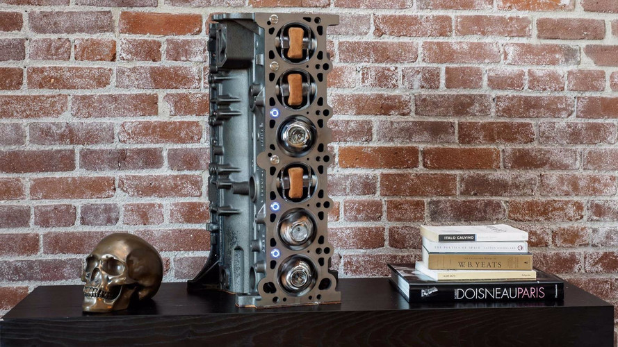 This BMW M3 Engine Block Is Actually A Mechanized Watch Case