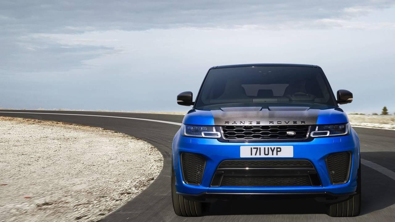 Range Rover Sport SVR - 4.5 saniye