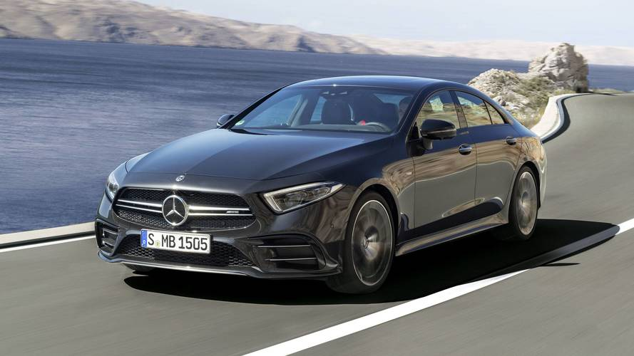 mercedes amg cls 53 2018 amg se met l 39 hybride. Black Bedroom Furniture Sets. Home Design Ideas