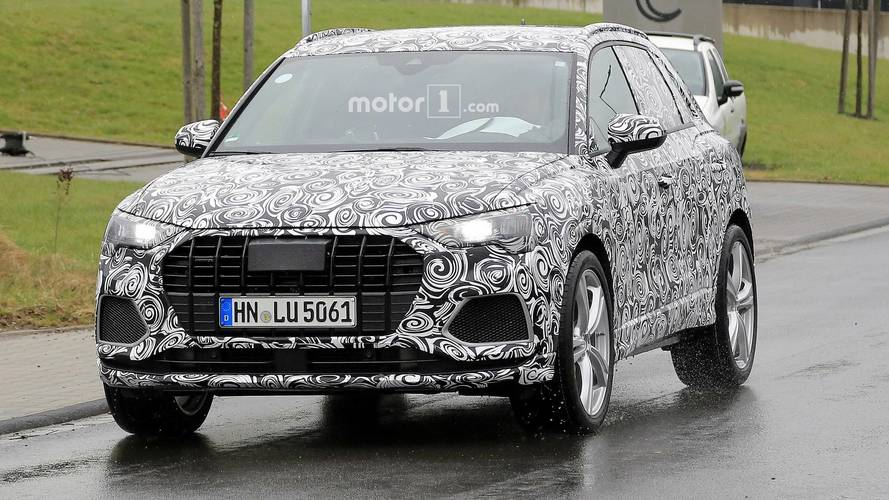 Audi SQ3 prototipi Nürburgring'i salladı