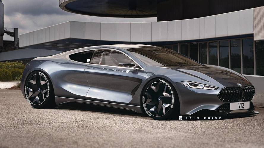 This Glorious Mid-Engined BMW M8 Render Is Just A Pipe Dream
