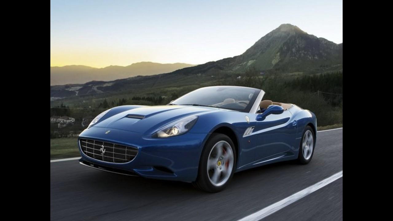 Ferrari California reduz o peso e ganha potência