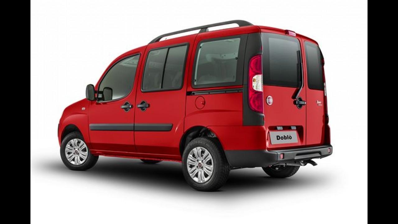 Fiat Doblò 2015 ganha poucas novidades e parte de R$ 57.950