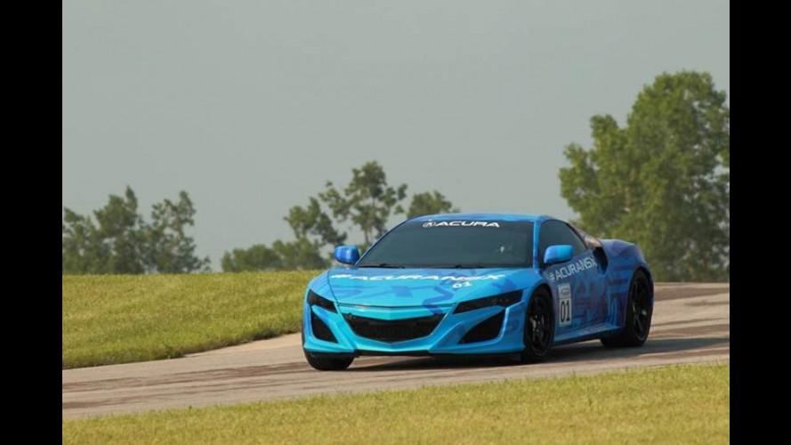 Acura mostra imagem do novo protótipo do futuro NSX