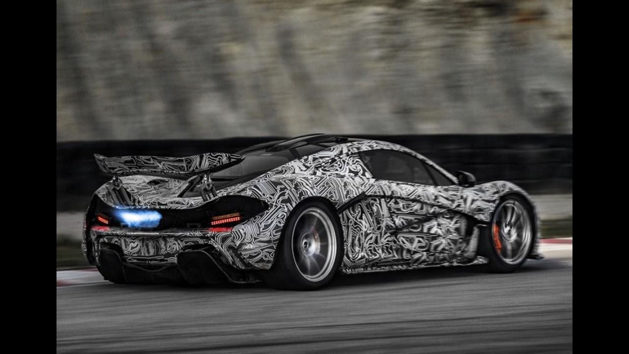 McLaren P1 tem as primeiras fotos oficiais reveladas