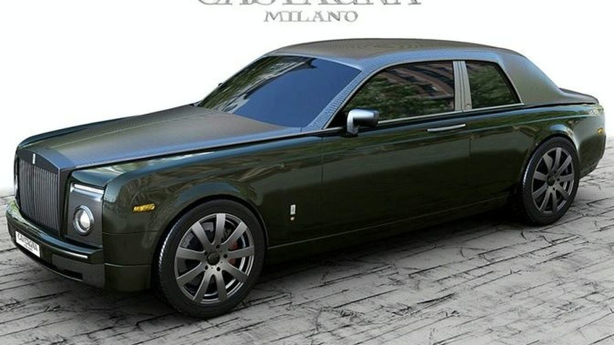 Castagna Milano Rolls-Royce Coupe at Geneva