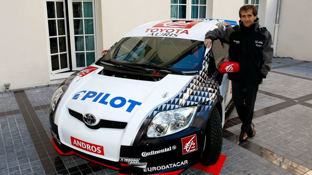 Toyota Auris race car