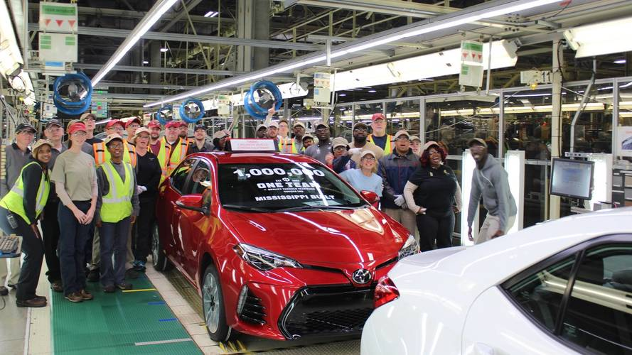 Toyota Corolla Production Reaches 1 Million In The United States