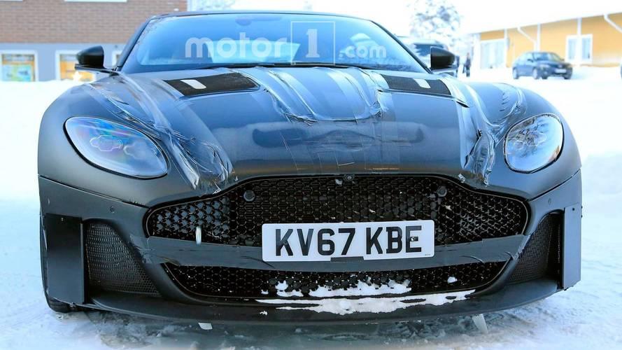 2019 Aston Martin Vanquish Spy Photos