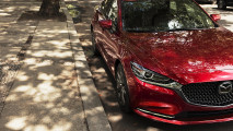 Mazda 6 restyling, il teaser