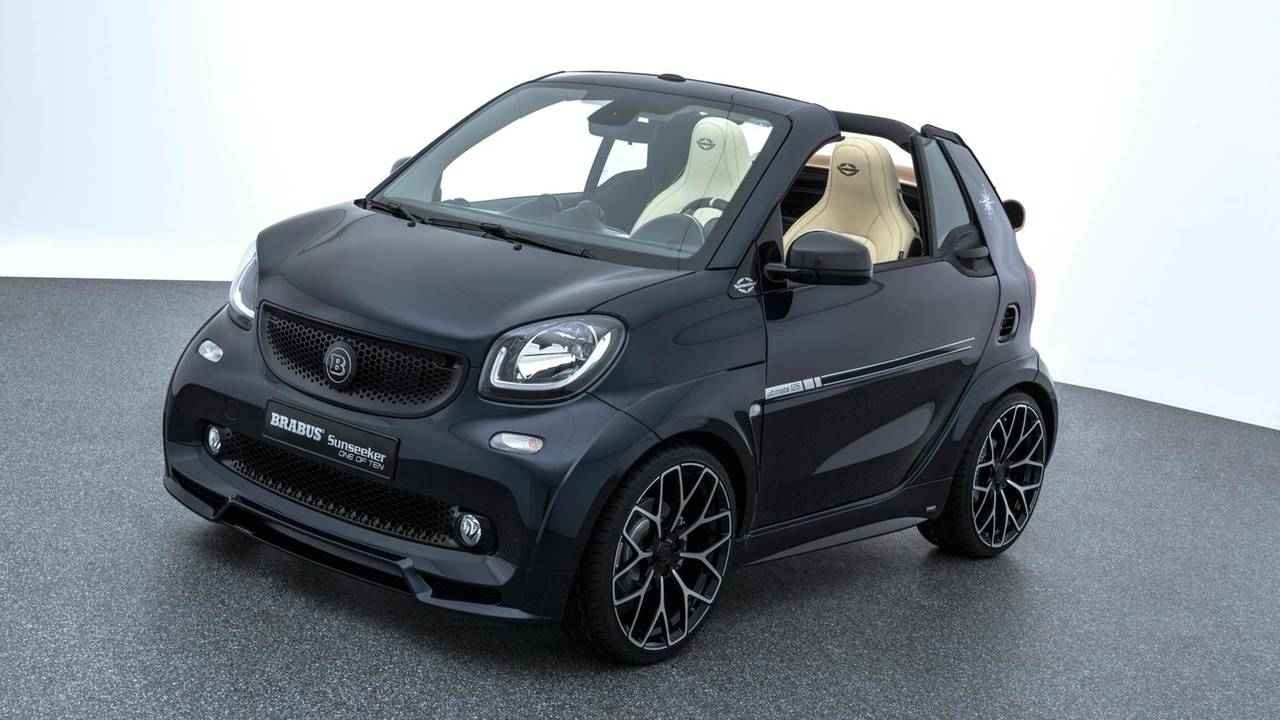 brabus smart fortwo sunseeker photos. Black Bedroom Furniture Sets. Home Design Ideas