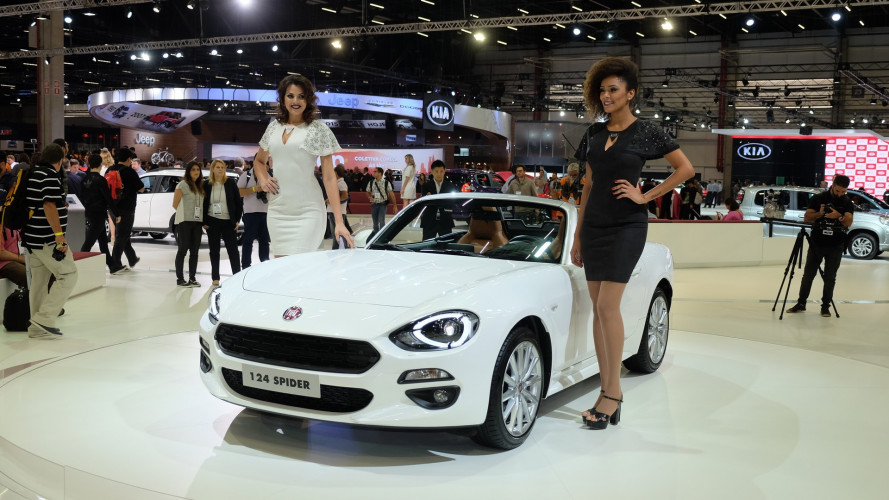 Além do Argo, Fiat lançará o 124 Spider no Salão de Buenos Aires