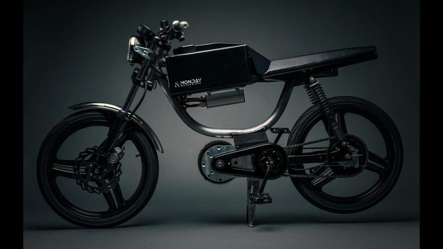 Monday Motorbikes reveals electric bicycle with 50-mile range