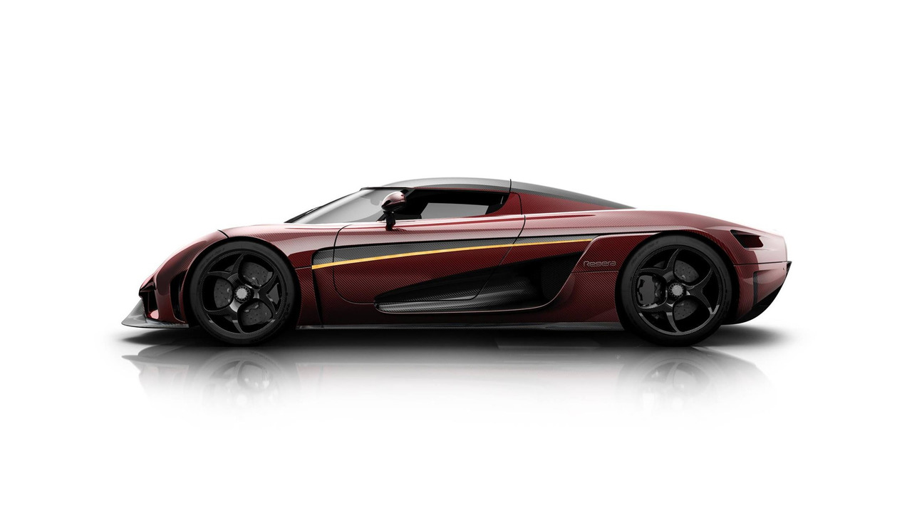 Second Regera designed by Koenigsegg