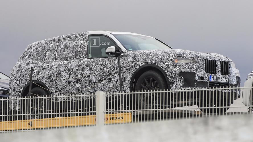 BMW X7 2019 Photos espion