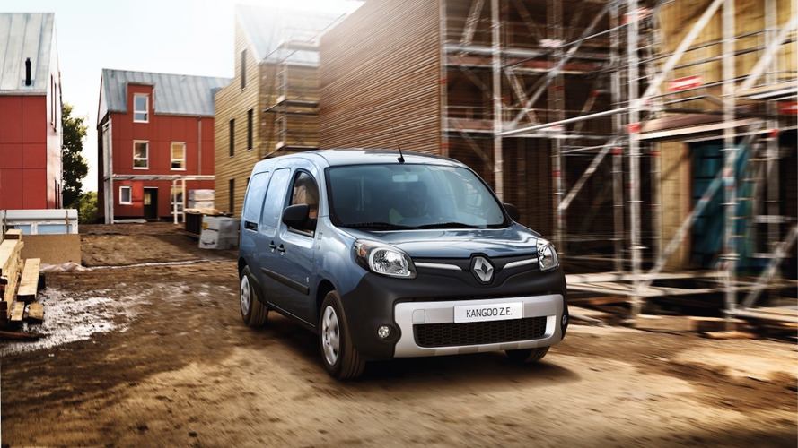 Renault Kangoo Z.E. menzilini arttırdı
