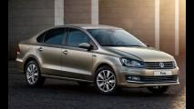 VW retoca visual do Polo Sedan na Rússia, apesar do colapso do mercado