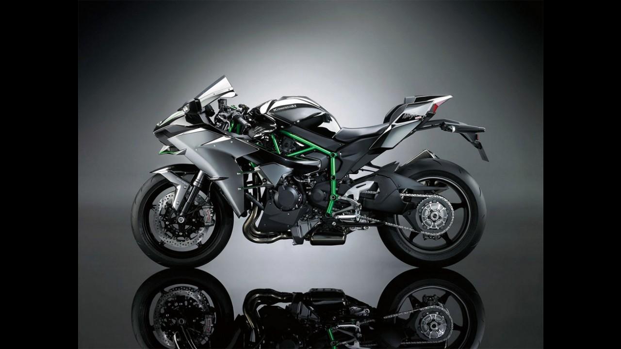 Kawasaki anuncia venda da Ninja H2 no Brasil