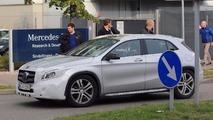 Mercedes-Benz GLA-Class refresh spy