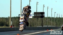 Ford Mustang dragster takes flight