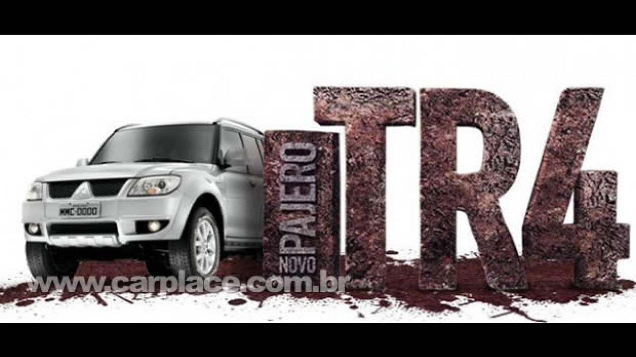 Mitsubishi revela o novo visual do Pajero TR4 Flex 2010 em seu site - Assesoria diz que informções são falsas