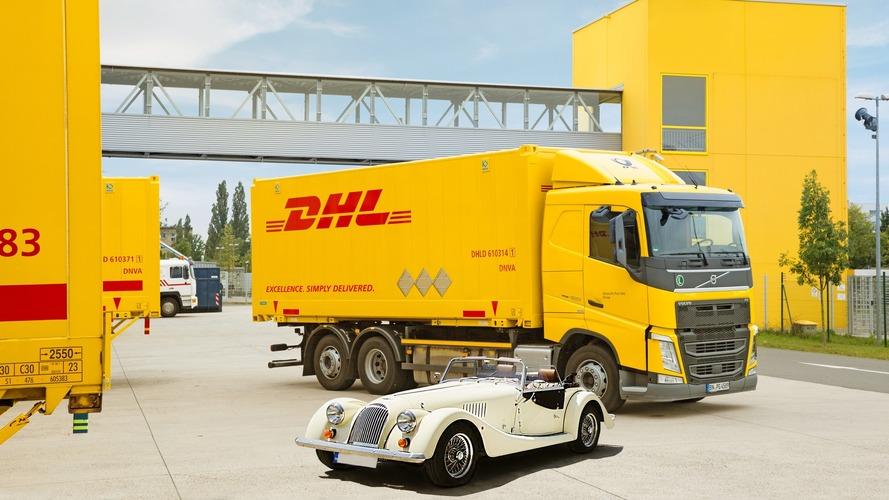 DHL Freight, Morgan Plus 4'ü Türkiye'ye getirdi