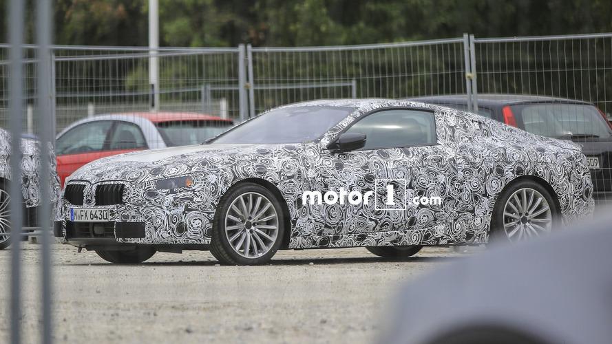 La future BMW Série 8 est de sortie !