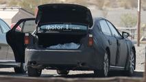 2018 Lexus LS spy shots from Death Valley