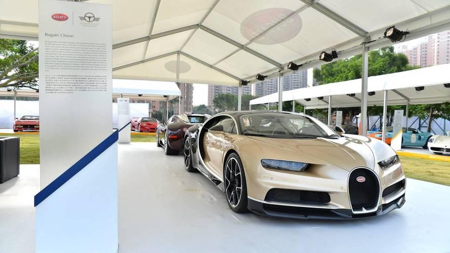 Hong Kong découvre la Bugatti Chiron
