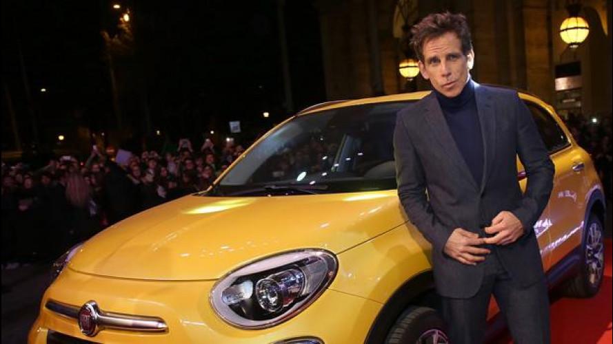 Fiat 500X con Ben Stiller sul red carpet di Zoolander 2 [VIDEO]