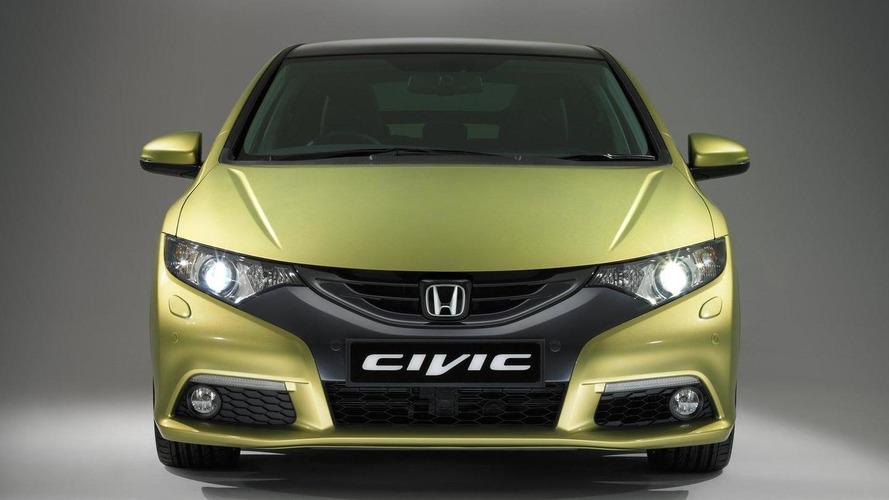2012 Honda Civic (euro-spec) in motion [video]